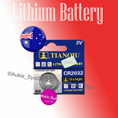 2 x CR2032 Blister Lithium Battery Cell Button Batteries Local Stock