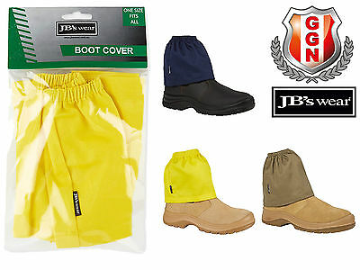 JBS WEAR 3pairs DURABLE BOOT COVER PROTECTOR,4 COLOURS,WORK PPE Safety