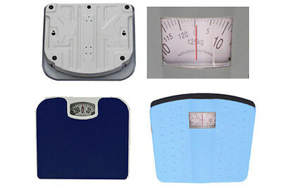 Mechanical Personal Analog Dial Bathroom Scale Taylor,Dot Ocean Non Slip Surface