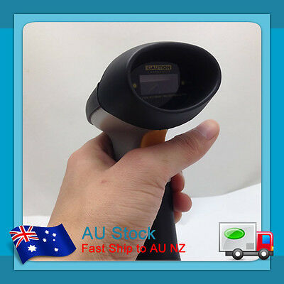 AU Gray New USB Port Laser Barcode Scanner Bar Code Reader Decoder for Computer
