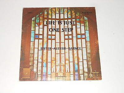 Black Gospel Soul - Sister Alessie Barney - LP - Life Is Just One Step - RARE