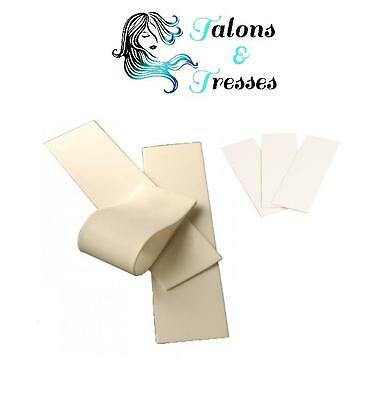 1 / 5 / 10 Silicone Rolling Strips / Finger Pads for Pre-Bonded Hair Extensions
