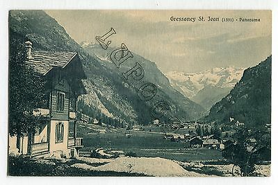 Aosta - Gressoney  St. Jean - Panorama