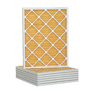 14x25x1 Ultra Allergen Merv 11 Pleated Replacement AC Furnace Air Filter 6 Pack