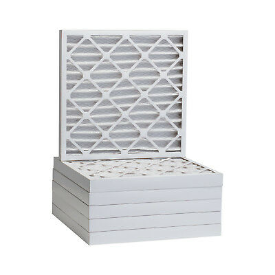16x16x2 Dust and Pollen Merv 8 Replacement AC Furnace Air Filter (6 Pack)