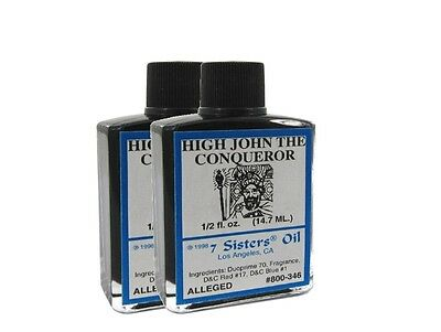 High John the Conqueror Oil by 7 Sisters of New Orleans 14.7ml
