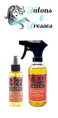 Solvent C-22 Keratin / Silicone Glue Bond Hair Extension Removal Spray 118/354ml