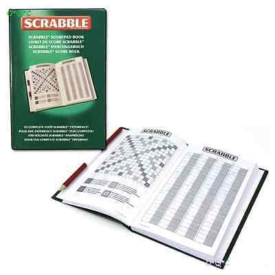 Official 100 Games SCRABBLE SCORE BOARD book pad NEW (by Tinderbox)