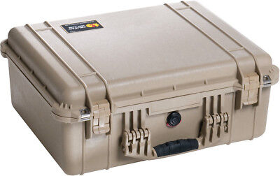 New Desert ™ Tan Pelican 1550 case empty includes FREE engraved name