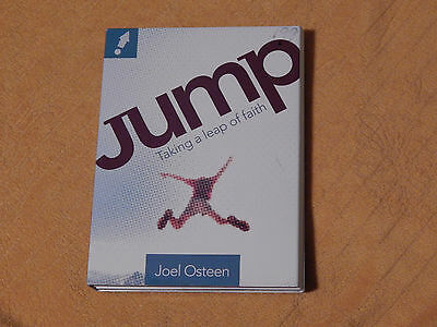 JUMP -Taking a Leap of Faith + Our Father(New) (DVD,CD) Joel Osteen - Robertson)