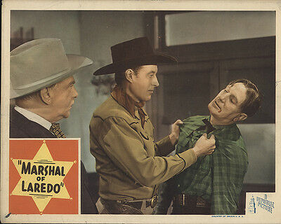 Marshal of Laredo 1945 Original Movie Poster Western