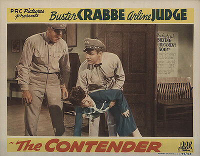 The Contender 1944 Original Movie Poster Action Crime Drama