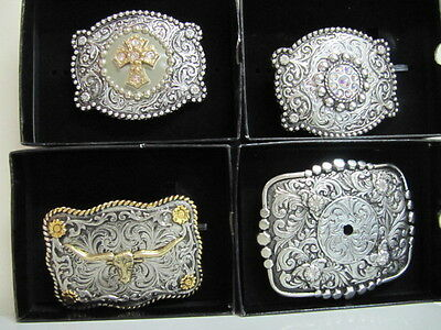 ANDWEST - Belt Buckle Collection - Motif Collection - Various Styles - New