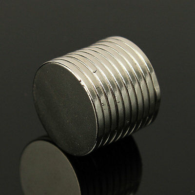 10x N50 15mm x 1.5mm Strong NdFeB Small Round Disc Rare Earth Neodymium Magnets
