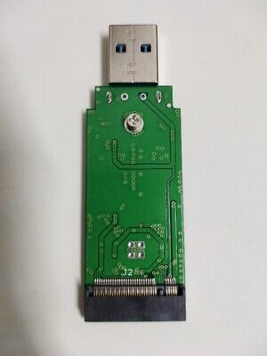 USB3.0 adapter card to M.2 NGFF SSD,Straight connection don't need a USB cable
