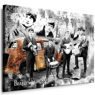 leinwandbilder org beatles bild auf leinwand druck bilder wandbilder poster eur 24 99. Black Bedroom Furniture Sets. Home Design Ideas