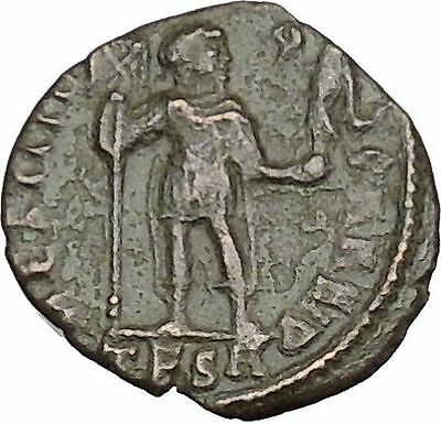 VALENS with labarum & Victory 364AD Ancient Roman Coin Christ monog  i50729