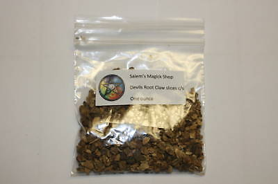 Devils claw root slices cut 1 oz.