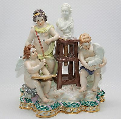 """Meissen Couture- Figure 1.Election""""The sculpture"""" Limited Number 70735."""