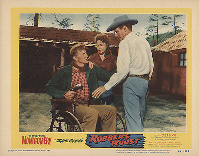 Robbers' Roost 1955 Original Movie Poster Action Drama Romance
