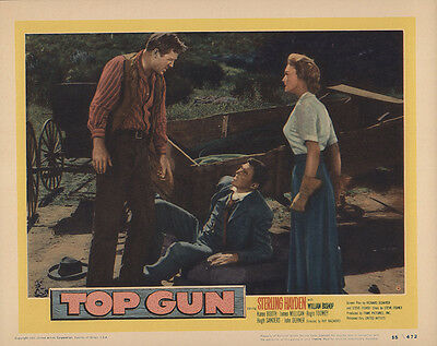 Top Gun 1955 Original Movie Poster Western