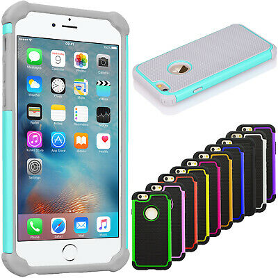 For iPhone 6 6s 7 8 Plus X XR XS 11 Pro Max Phone Case Silicone Hybrid Cover