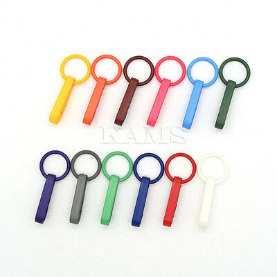 Colorful Gloves Hook Plastic Buckles Snap Hook
