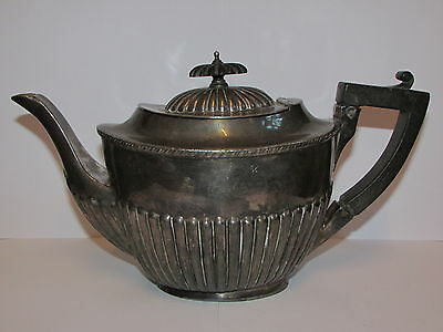 Antique Collectable Silver Plated Tea Pot By James Deakin & Sons 1871 - 1939