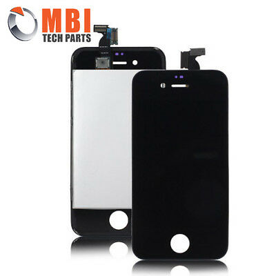 iPhone 4S 4GS Replacement LCD & Touch Screen Digitizer Glass - Black