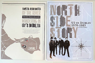 North Side Story U2 in Dublin 1978-1983 EXCLUSIVE Fan Club Package book/poster