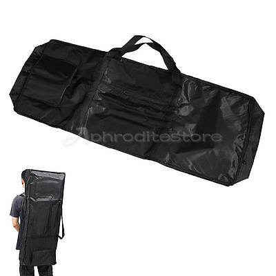 Electric 61 Keys Keyboard Piano Organ Carry Gig Bag Case Portable Black Padded