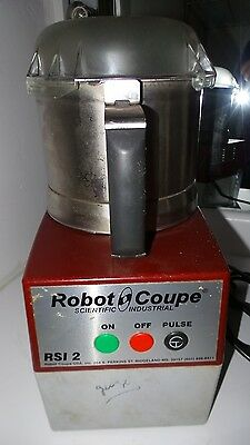 Robot Coupe Rsi 2 Commercial Cutter Mixer Food Processor