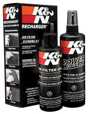 K&N Air Filter Cleaner and Filter Oil Squeeze Bottle Service Kit (99-5050)