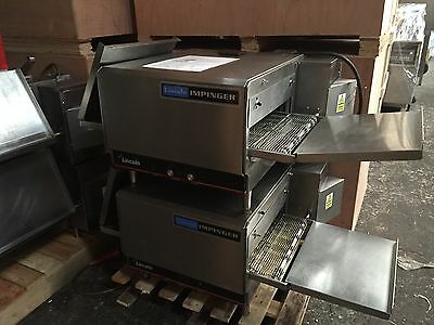 LINCOLN IMPINGER CONVEYOR PIZZA OVENS x 2