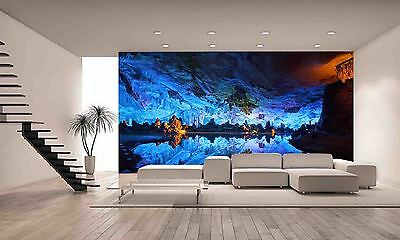 Underground Cave Wall Mural Photo Wallpaper GIANT DECOR Paper Poster Free Paste