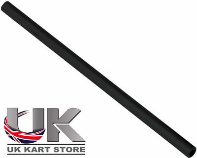 Track / Tie Rod 225mm x M8 Round Black UK KART STORE
