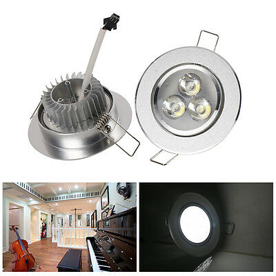 Dimmable 3W/5W LED Ceiling Light Recessed Fixture Downlight Spot Lamp+LED Driver
