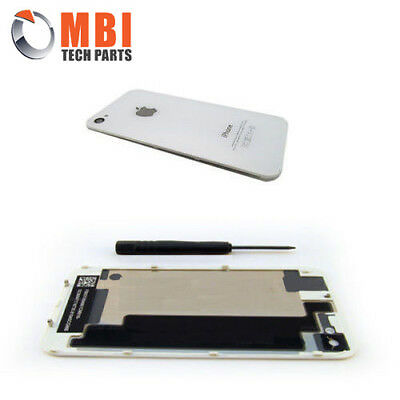 New Replacement Back Rear Glass Battery Cover for iPhone 4S 4GS - White A1387