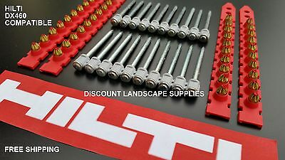 GFS - HILTI DX460 Comp -: 500 x RED CHARGES + 500 x 62mm COLLATED NAILS / PINS