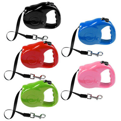 Nylon Retractable Pet Dog Puppy Extendable Flexible Leash Lead Rope For Walking