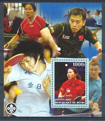 (016387) Scouting, Tabletennis, Benin - Private issue -