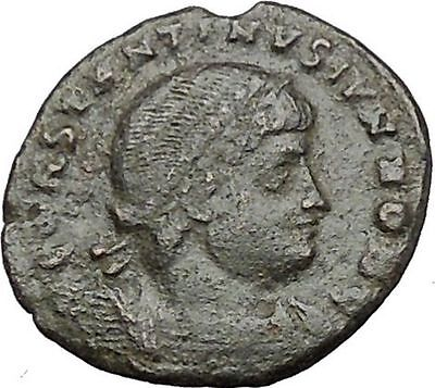 CONSTANTINE II Constantine the Great son Ancient  Roman Coin Legions  i50836