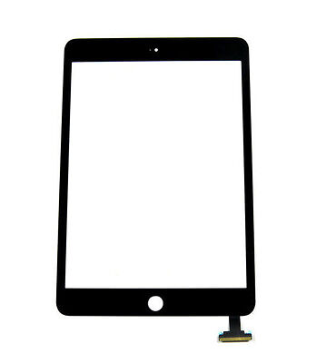 Replacement Touch Screen Glass Digitizer + Adhesive for iPad Mini 1 /2 Black