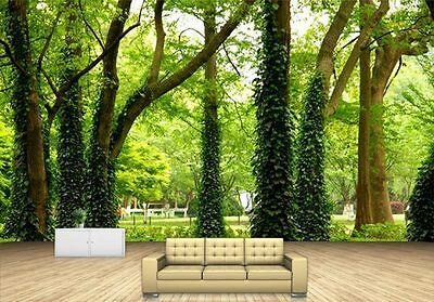 Spring Green Tree Vine Nature Full Wall Mural Photo Wallpaper Print Home Dec Kid