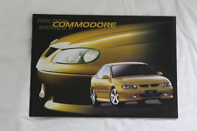 Holden Vx Commodore  Series Ii Acclaim S Ss Sales Brochure