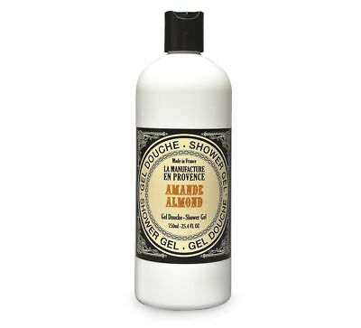 Gel Douche Bio Amande Douce Fabrication à l'ancienne 750 ml 100% Made in France