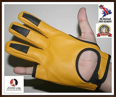 Full Shoot Archers  Glove- Real Leather Top Quality Leather Archery Glove