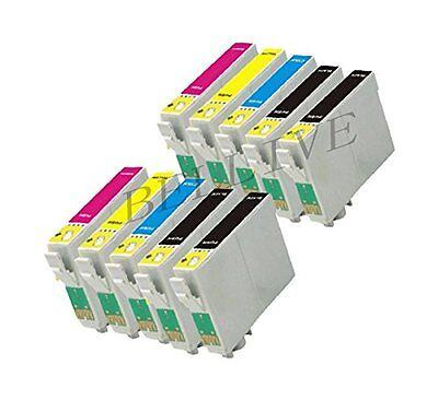 10 CARTUCCE COMPATIBILE PER EPSON Stylus Office BX305F BX305FW Plus SX438W BL12