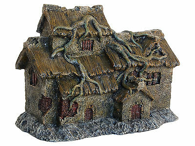 House with Roots Aquarium Ornament Fish Tank Decoration
