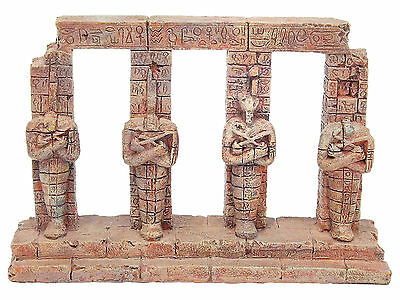 Ancient Pharaoh Columns Aquarium Ornament Fish Tank Decoration